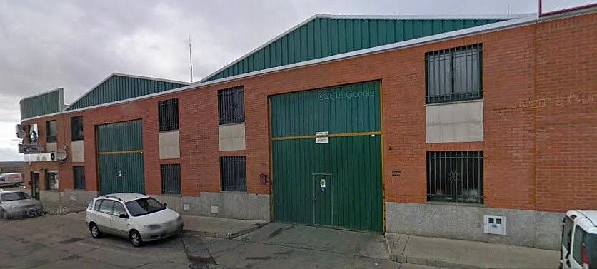 Fachada - Nave industrial en alquiler en calle Rubiera, Villares de la Reina - 312544254