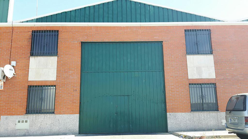 Fachada - Nave industrial en alquiler en calle Rubiera, Villares de la Reina - 316742742