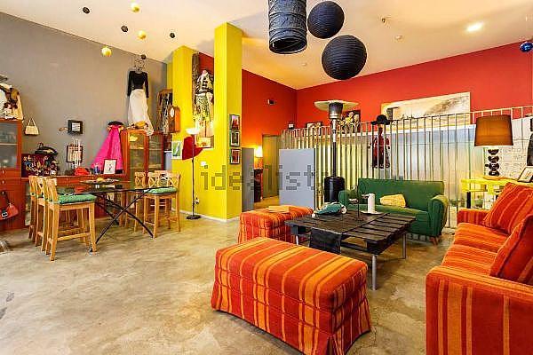 Comedor - Loft en alquiler en calle Teodosio, San Lorenzo en Sevilla - 312584235