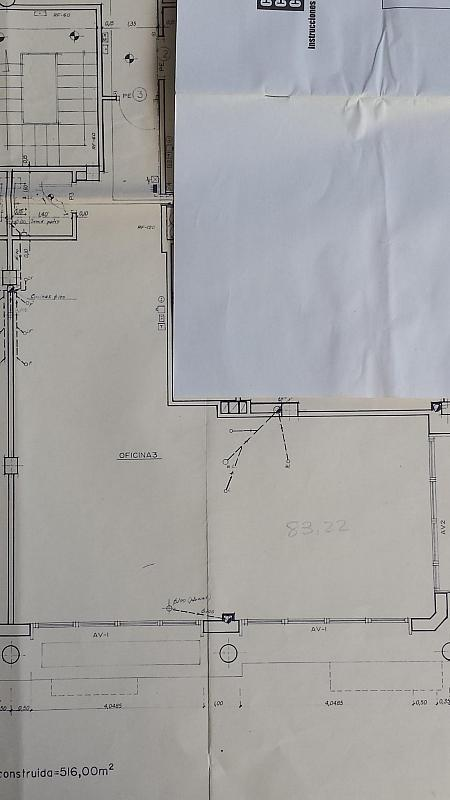 Plano - Oficina en alquiler en travesía Jardins, Zona Centro en Lloret de Mar - 313751200