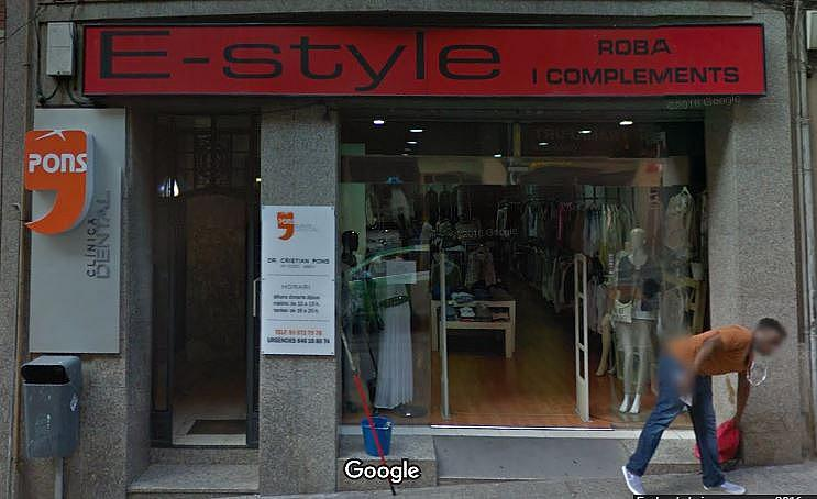 Fachada - Local comercial en alquiler en calle Angel Guimera, Passeig rodalies en Manresa - 323955778