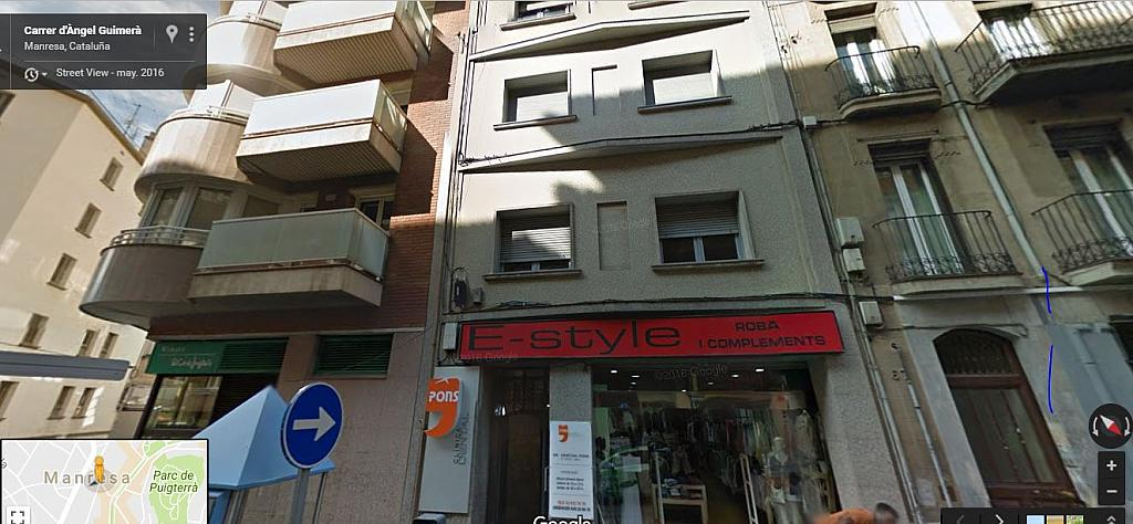 Fachada - Local comercial en alquiler en calle Angel Guimera, Passeig rodalies en Manresa - 326695874