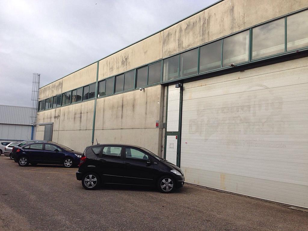 Fachada - Nave industrial en alquiler en vía Camiño Do Laranxo Interior, Teis en Vigo - 314539210
