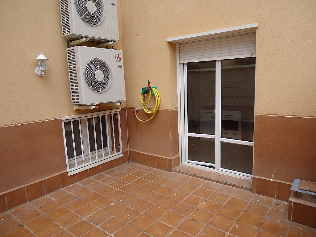 Terraza - Casa adosada en alquiler opción compra en calle Pablo Serrano, Luceni - 316356648