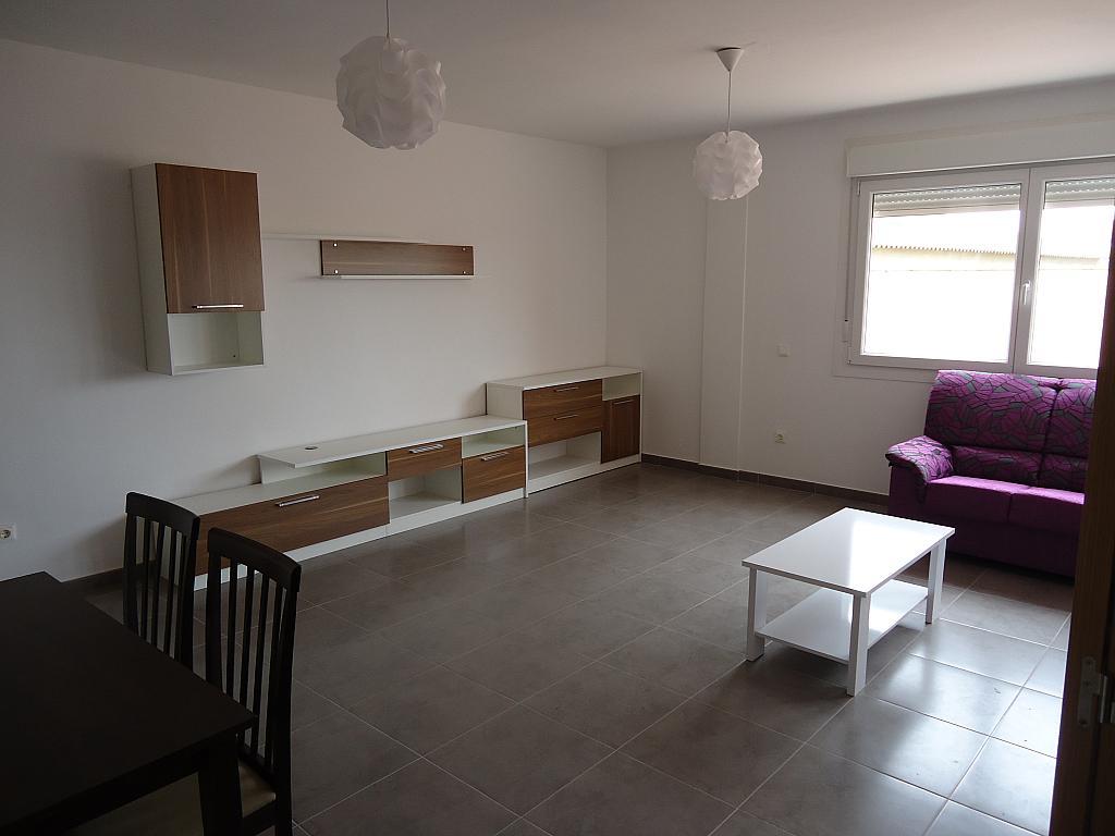 Salón - Casa adosada en alquiler opción compra en calle Pablo Serrano, Luceni - 316356788