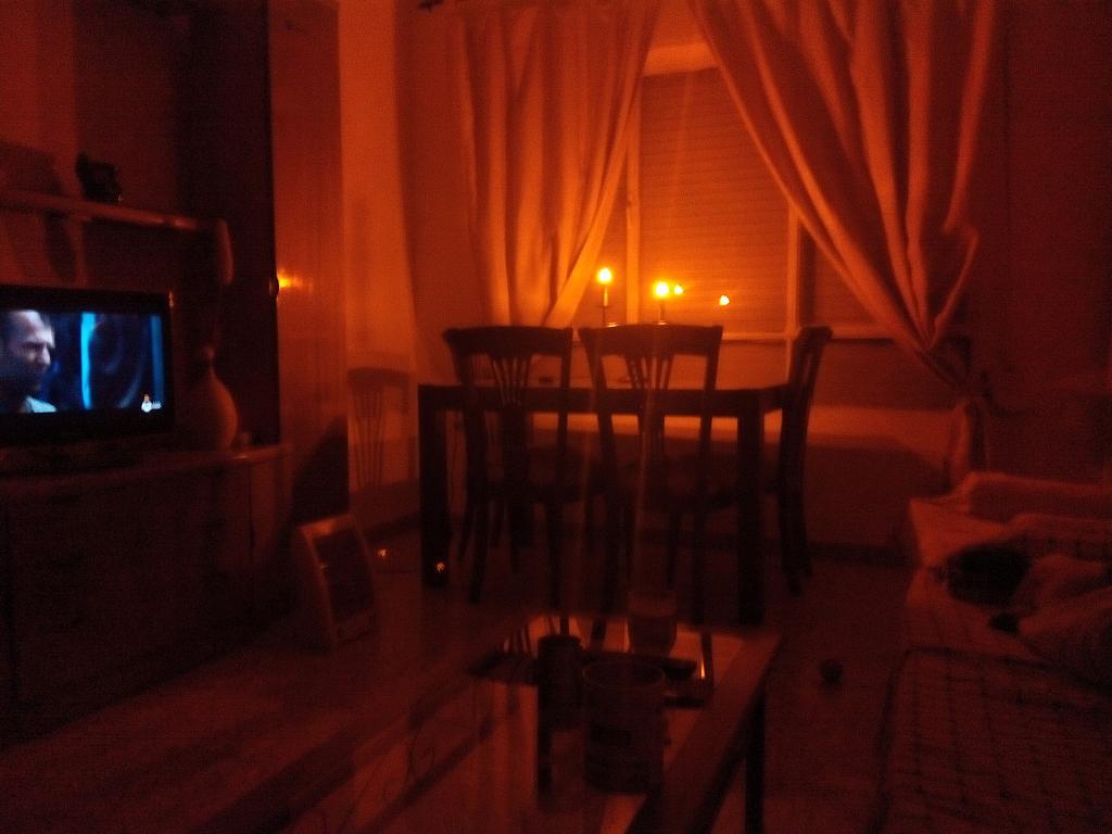Salón - Piso a compartir en calle Virgen del Romero, Cartagena - 317610520