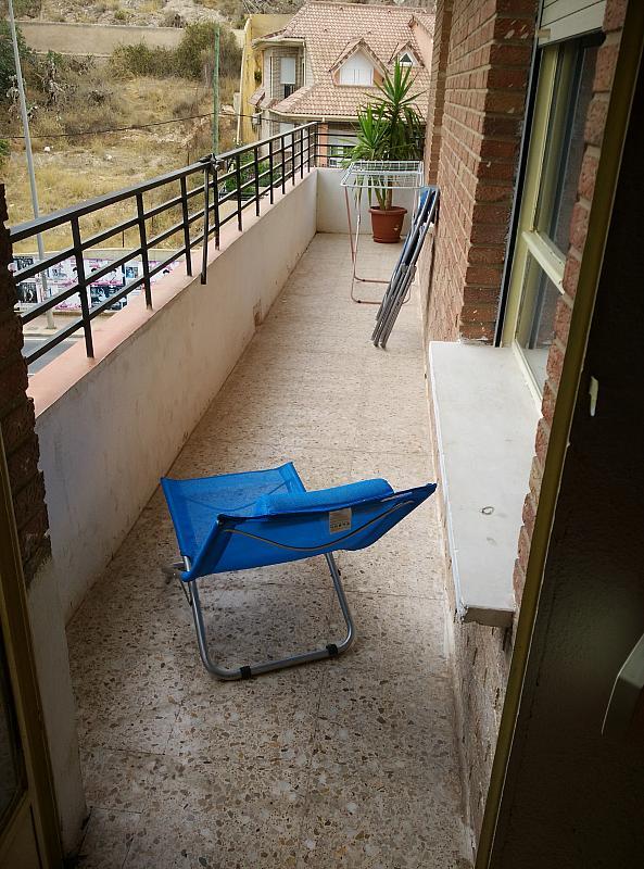 Terraza - Piso a compartir en calle Virgen del Romero, Cartagena - 317610577