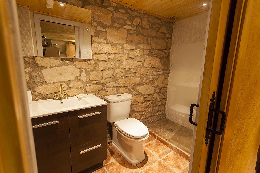 Baño - Casa en alquiler en calle Tello, Nonaspe - 318228299