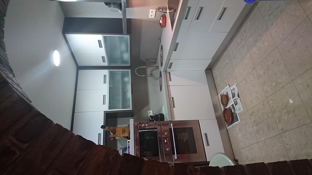 Cocina - Ático en alquiler en calle Prim, Centre en Badalona - 318502076