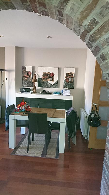 Comedor - Ático en alquiler en calle Prim, Centre en Badalona - 318502093
