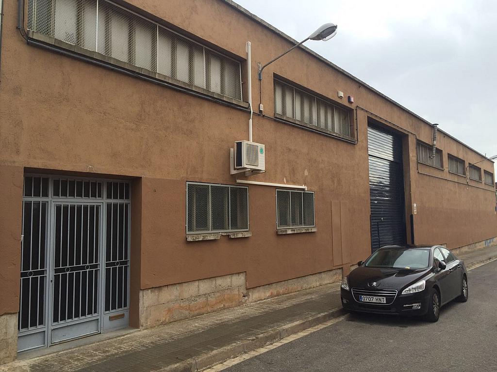 Fachada - Nave industrial en alquiler en calle Jaen, Egara en Terrassa - 318893437