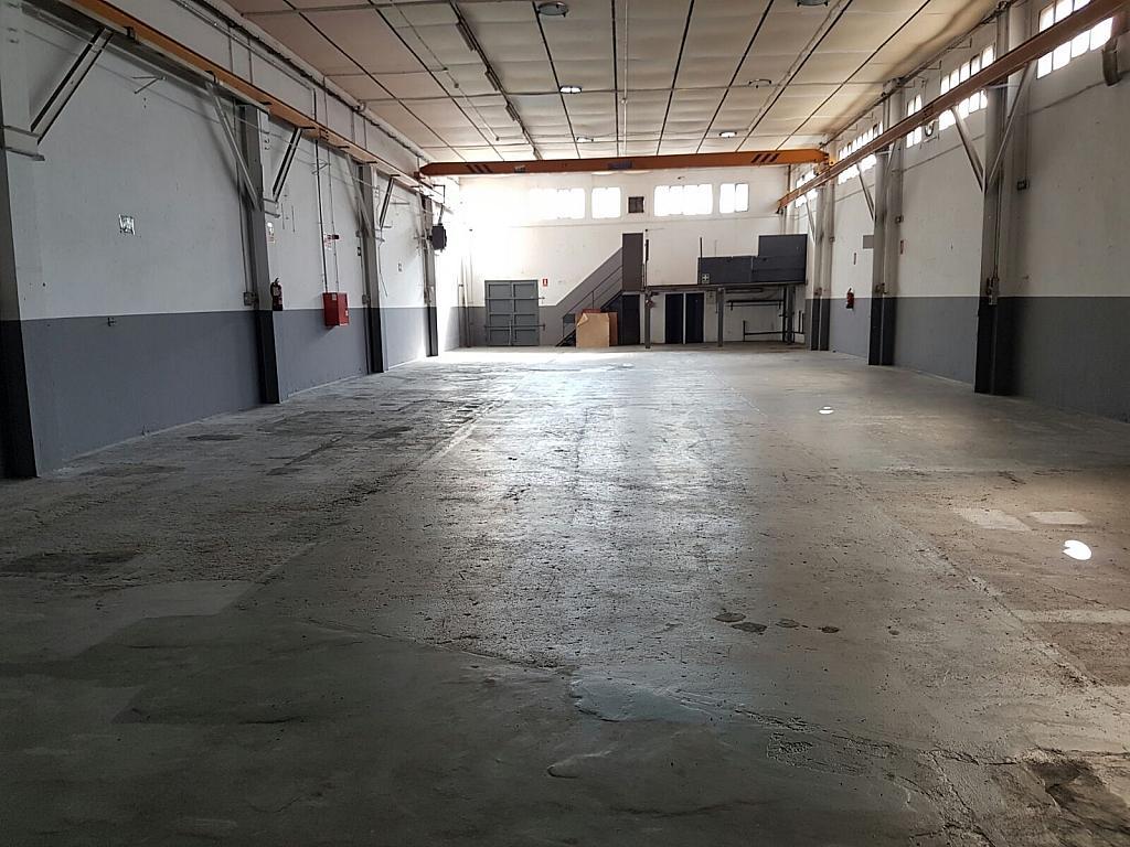 Plano - Nave industrial en alquiler en calle Jaen, Egara en Terrassa - 318893692