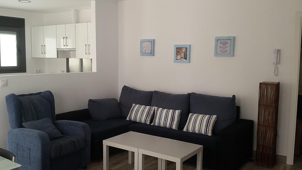 Salón - Casa adosada en alquiler en calle Gaviota, Punta Umbría - 320265533