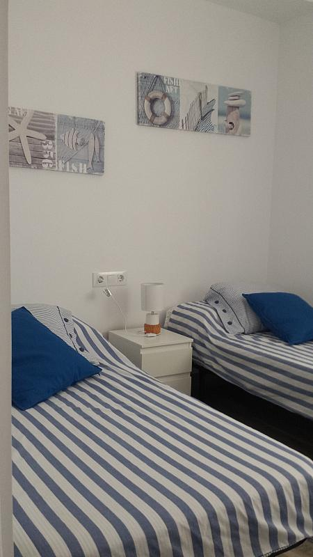 Dormitorio - Casa adosada en alquiler en calle Gaviota, Punta Umbría - 320265814