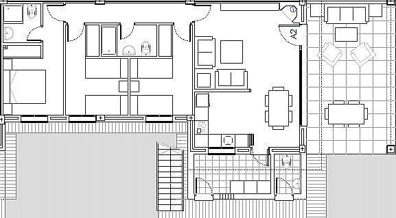 Plano - Casa adosada en alquiler en calle Gaviota, Punta Umbría - 320266098
