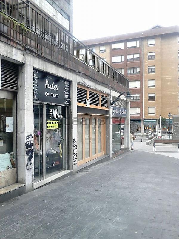 Fachada - Local comercial en alquiler en calle Luis Luciano Bonaparte, Begoña en Bilbao - 320706474