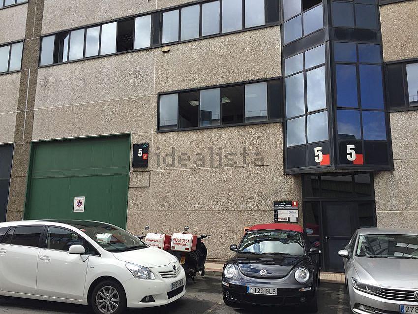 Fachada - Nave en alquiler en carretera Bilbaoplentzia, Erandio - 320723692