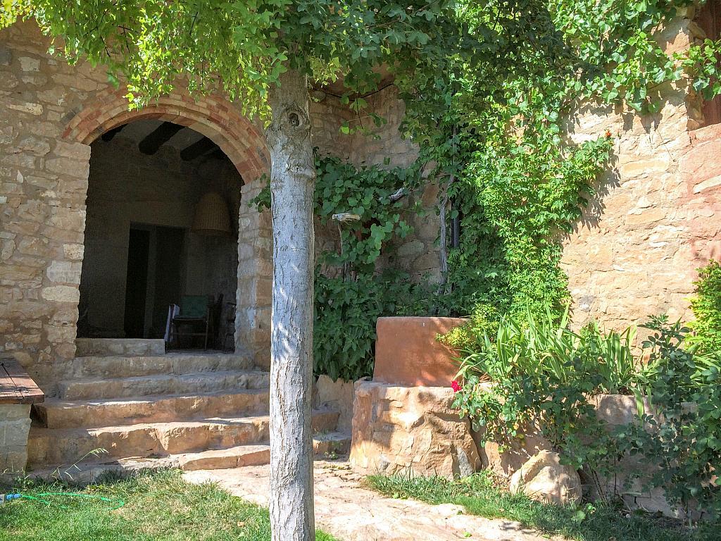 Jardín - Casa en alquiler de temporada en calle Eixida, Vallbona de les Monges - 320710128