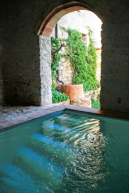 Piscina - Casa en alquiler de temporada en calle Eixida, Vallbona de les Monges - 320710266
