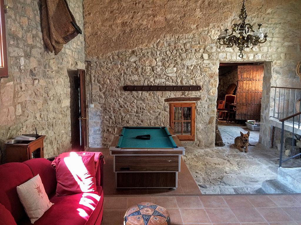 Salón - Casa en alquiler de temporada en calle Eixida, Vallbona de les Monges - 320710297