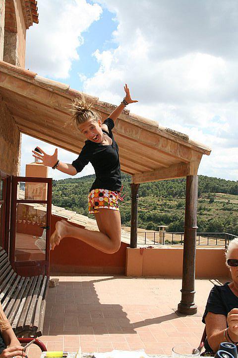Terraza - Casa en alquiler de temporada en calle Eixida, Vallbona de les Monges - 320710326