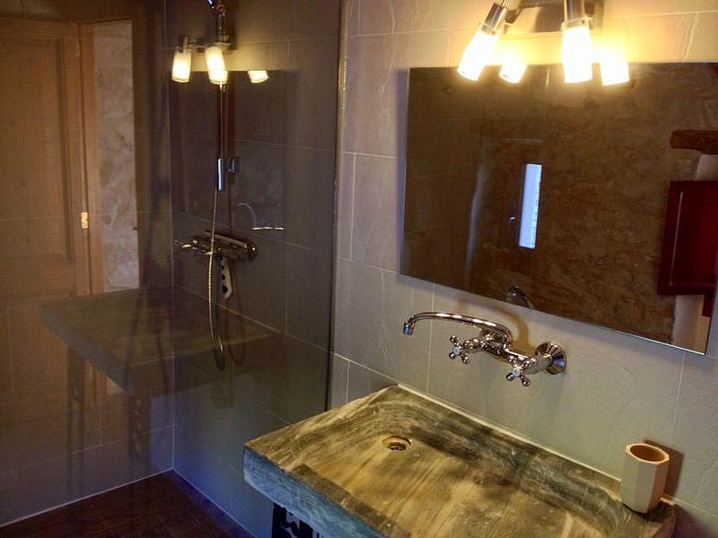Baño - Casa en alquiler de temporada en calle Eixida, Vallbona de les Monges - 320710825