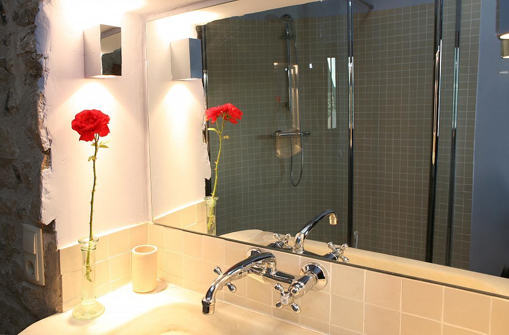 Baño - Casa en alquiler de temporada en calle Eixida, Vallbona de les Monges - 321215252