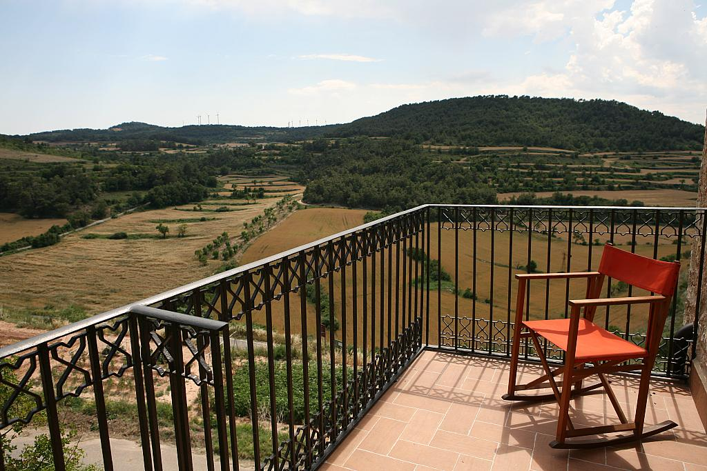 Balcón - Casa en alquiler de temporada en calle Eixida, Vallbona de les Monges - 321215370
