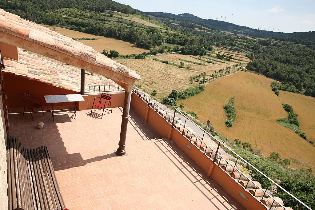 Terraza - Casa en alquiler de temporada en calle Eixida, Vallbona de les Monges - 321216191
