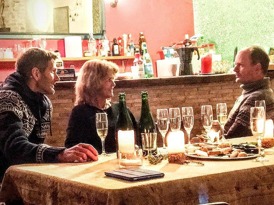 Comedor - Casa en alquiler de temporada en calle Eixida, Vallbona de les Monges - 321217492