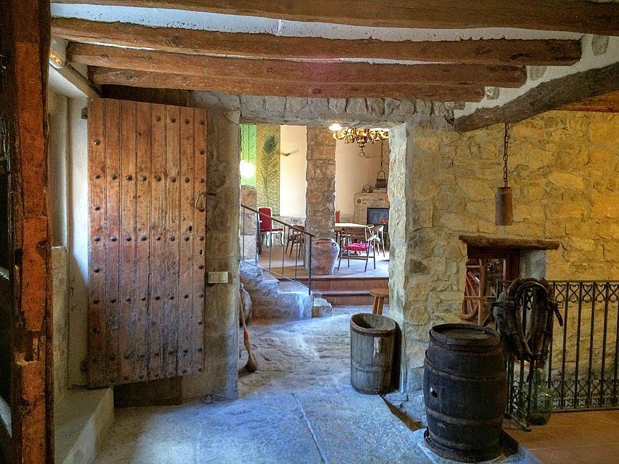 Pasillo - Casa en alquiler de temporada en calle Eixida, Vallbona de les Monges - 321217557