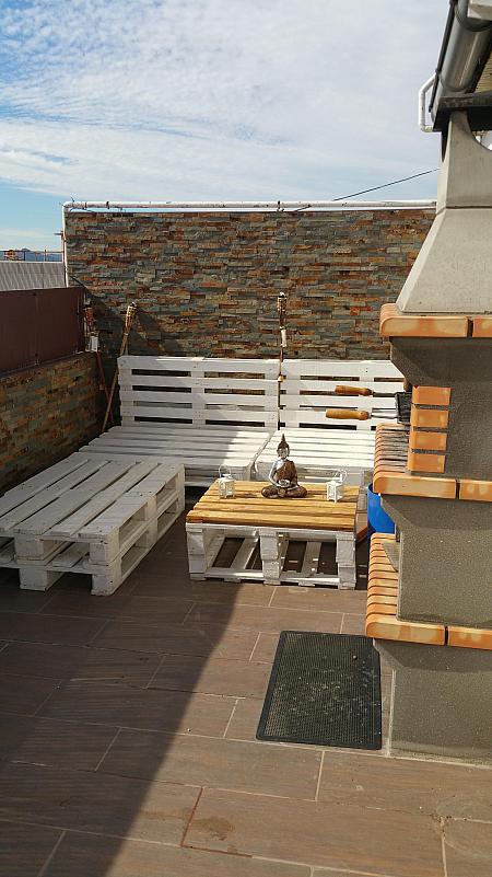 Terraza - Ático en alquiler en calle Cristobal Colon, Mollet del Vallès - 321260689