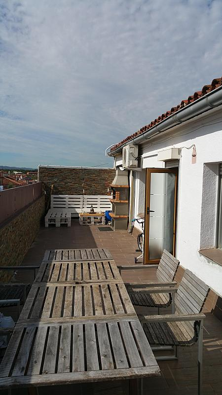 Terraza - Ático en alquiler en calle Cristobal Colon, Mollet del Vallès - 321260746