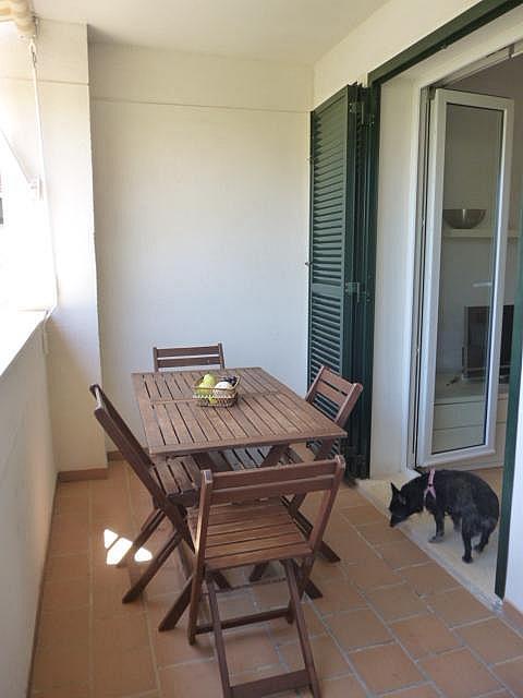 Terraza - Piso en alquiler en calle Beat Josep Castell Camps, Núcleo urbano en Ciutadella de Menorca - 321849422