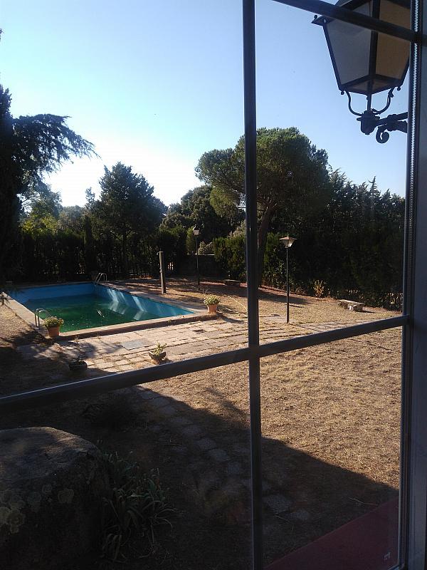 Piscina - Chalet en alquiler en urbanización Cádiz, Valdemorillo - 331824776