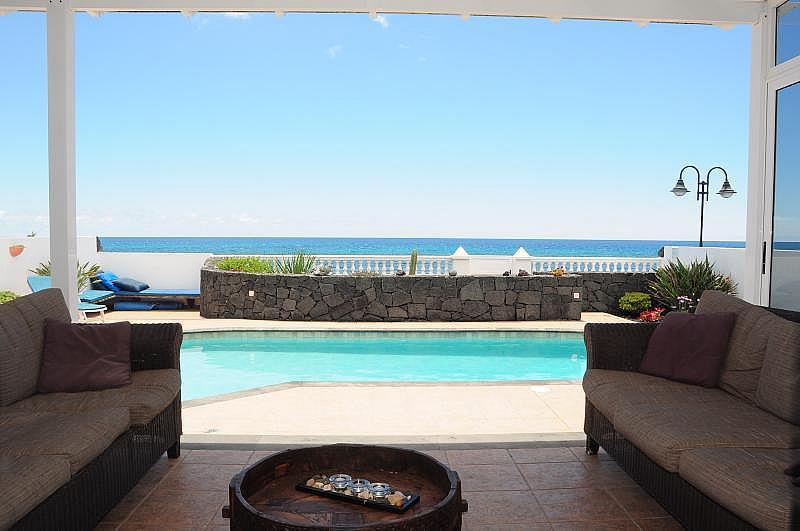 Piscina - Casa en alquiler en calle Las Salinas, Punta Mujeres - 322578035
