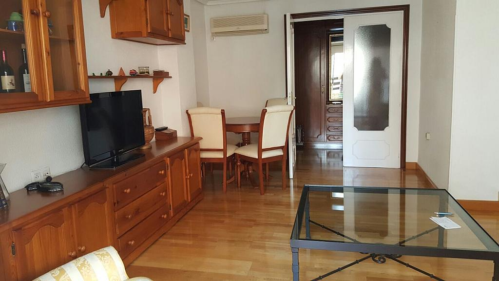 Salón - Piso en alquiler en plaza Escultor Roque Lopez, San Miguel en Murcia - 322588765