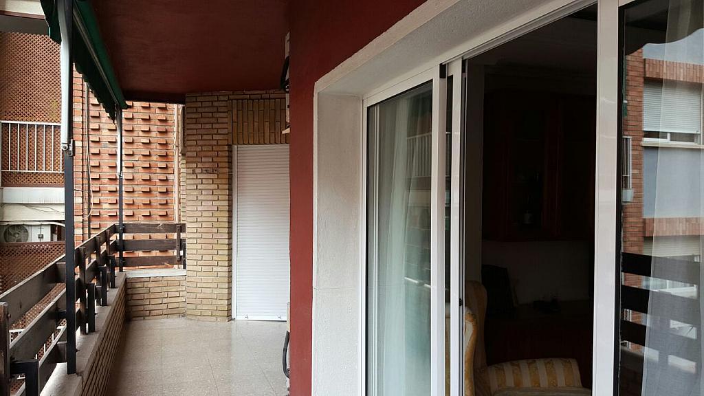 Balcón - Piso en alquiler en plaza Escultor Roque Lopez, San Miguel en Murcia - 322588906