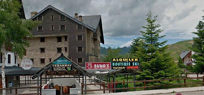 Fachada - Ático-dúplex en alquiler de temporada en plaza Formigal, Sallent de Gállego - 322590490