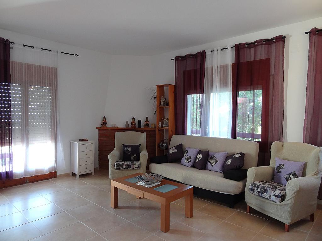 Salón - Casa en alquiler en calle Mas D'en Puig, Quint mar en Sitges - 323966138