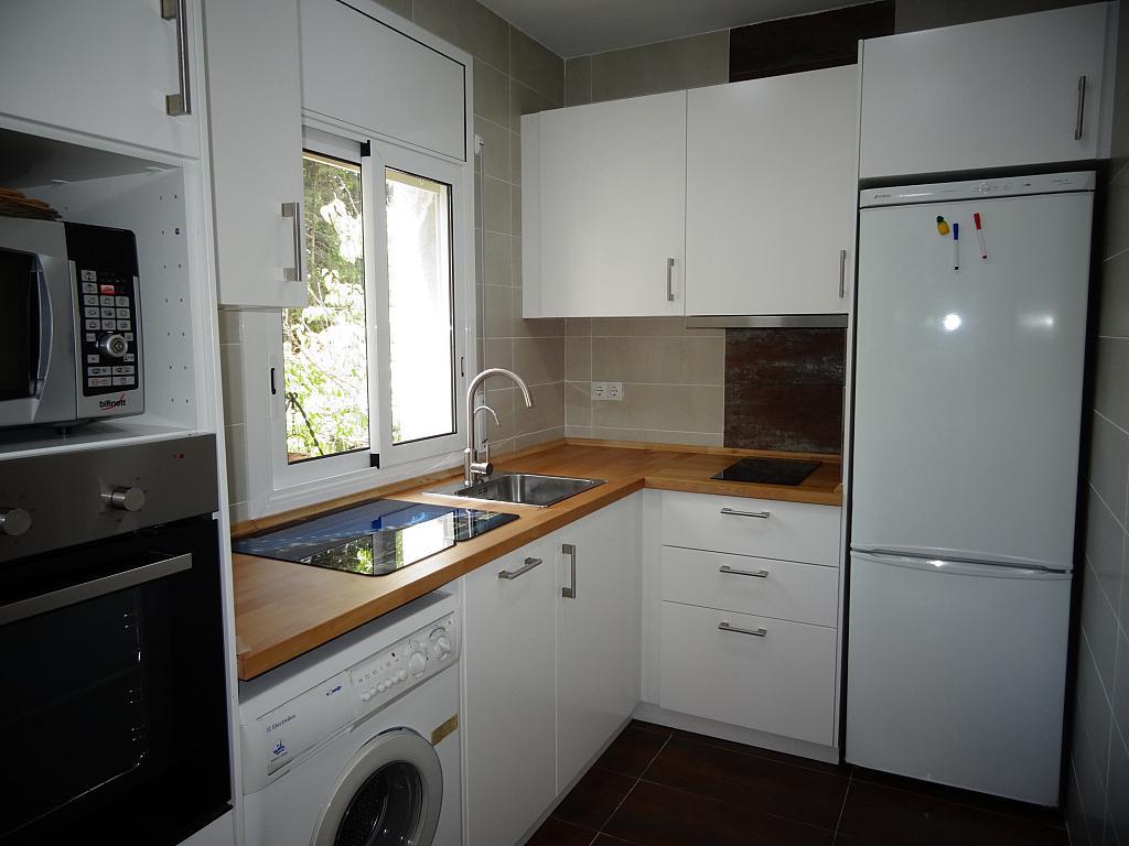 Cocina - Casa en alquiler en calle Mas D'en Puig, Quint mar en Sitges - 323966145