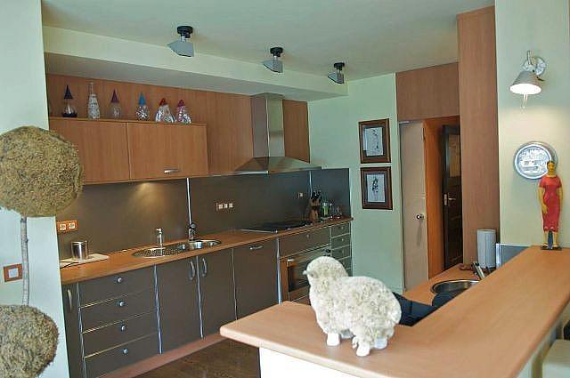 Cocina - Ático-dúplex en alquiler de temporada en calle Ctra de Prats, Canillo - 324379181