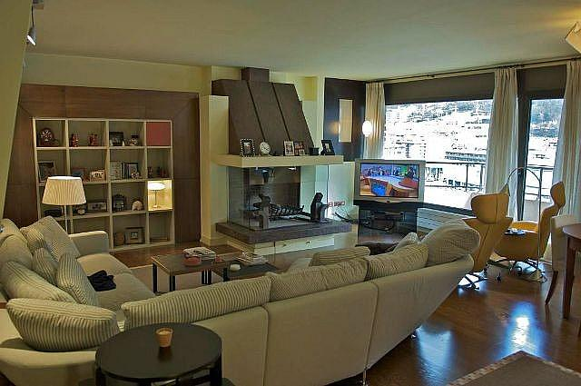 Salón - Ático-dúplex en alquiler de temporada en calle Ctra de Prats, Canillo - 324379202