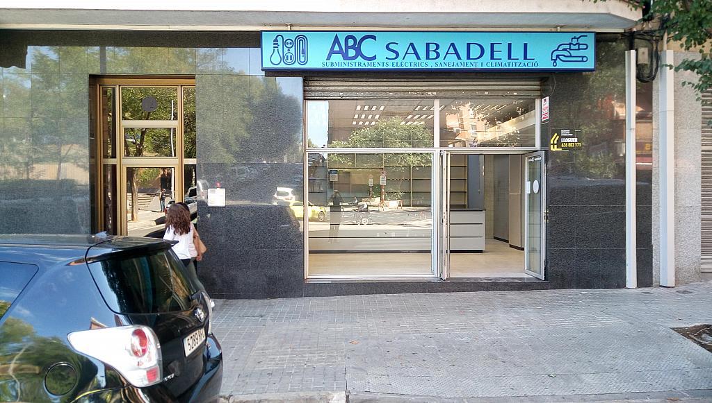 Fachada - Local comercial en alquiler en vía Aurèlia, Concordia en Sabadell - 324625350