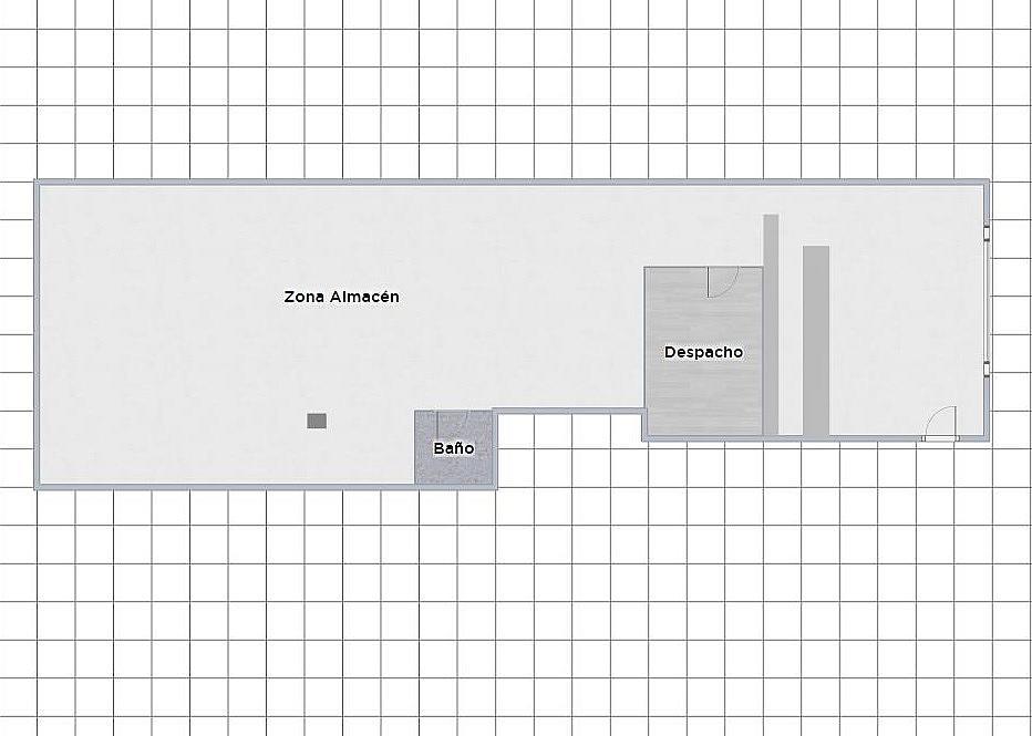 Plano - Local comercial en alquiler en vía Aurèlia, Concordia en Sabadell - 324628325
