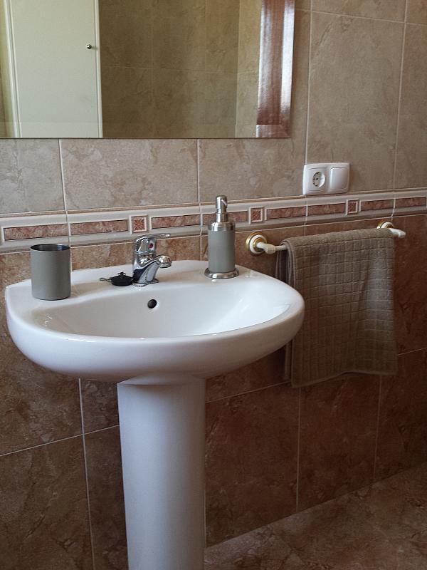 Baño - Apartamento en alquiler en calle Pintor Collado, Garrovilla (La) - 325294979