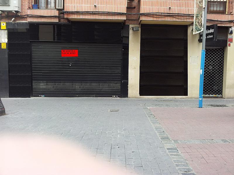 Fachada - Local comercial en alquiler en calle Madrid, Centro en Getafe - 275881585