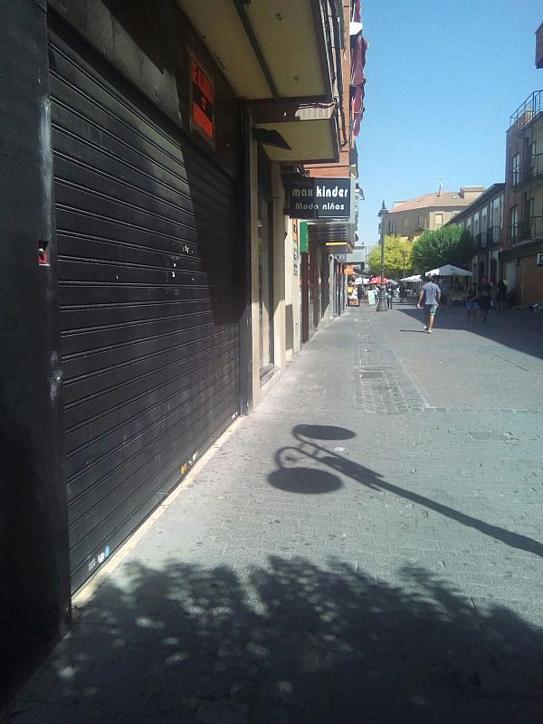 Fachada - Local comercial en alquiler en calle Madrid, Centro en Getafe - 322033127
