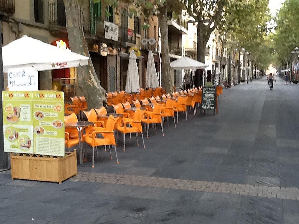 Terraza - Local comercial en alquiler en rambla Principal, Centre en Vilanova i La Geltrú - 325830600