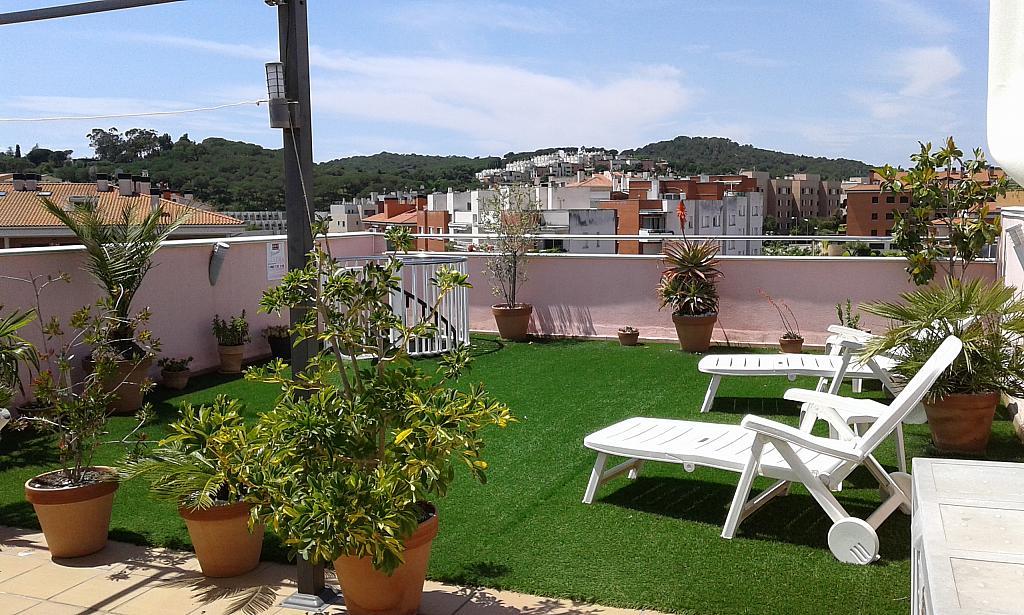 Terraza - Ático en alquiler en calle Passapera, Fanals en Lloret de Mar - 326683863